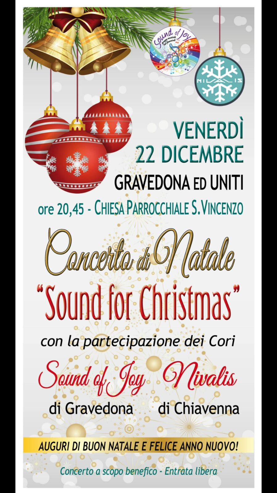 Concerto di Natale con Young Voices