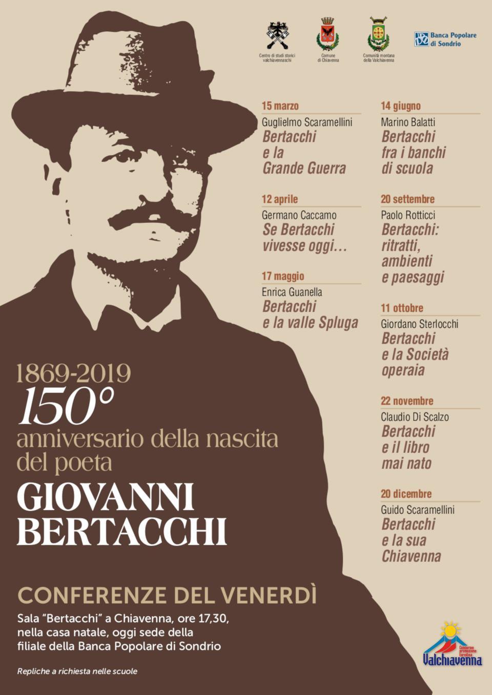 150° ANNIVERSARIO DELLA NASCITA DI GIOVANNI BERTACCHI